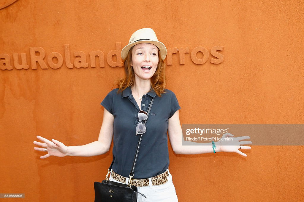 <a gi-track='captionPersonalityLinkClicked' href=/galleries/search?phrase=Audrey+Marnay&family=editorial&specificpeople=622579 ng-click='$event.stopPropagation()'>Audrey Marnay</a> attends the French Tennis Open Day 6 at Roland Garros on May 27, 2016 in Paris, France.