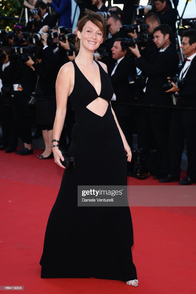 Audrey Marnay attends the Premiere of 'The Immigrant' at The 66th Annual Cannes Film Festival at Palais des Festivals on May 24, 2013 in Cannes, France.