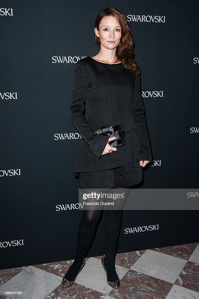 Audrey Marnay attends the Swarovski Dinner In Honor of the Bouroullec Brothers at Chateau de Versailles on November 14, 2013 in Versailles, France.