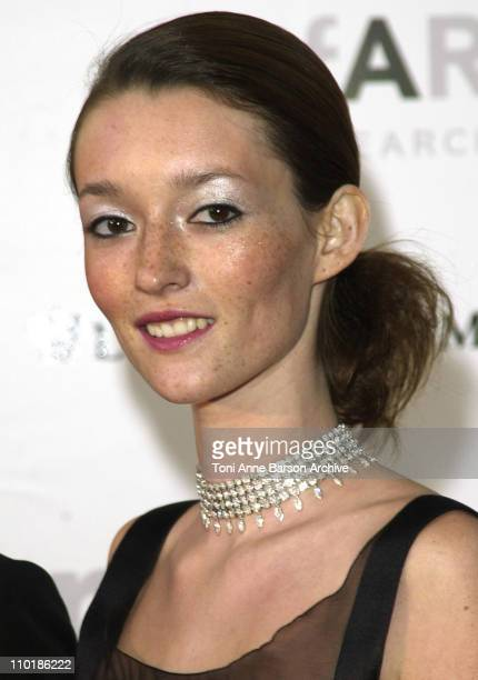 Audrey Marnay during Cannes 2002 amfAR's Cinema Against AIDS Gala sponsored by Motorola and cosponsored by De Beers Arrivals at Le Moulin de Mougins...