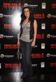 Audrey Moreno Soberon attends the premiere of 'The ATeam' at Cinemex Antara Polanco on May 31 2010 in Mexico City Mexico