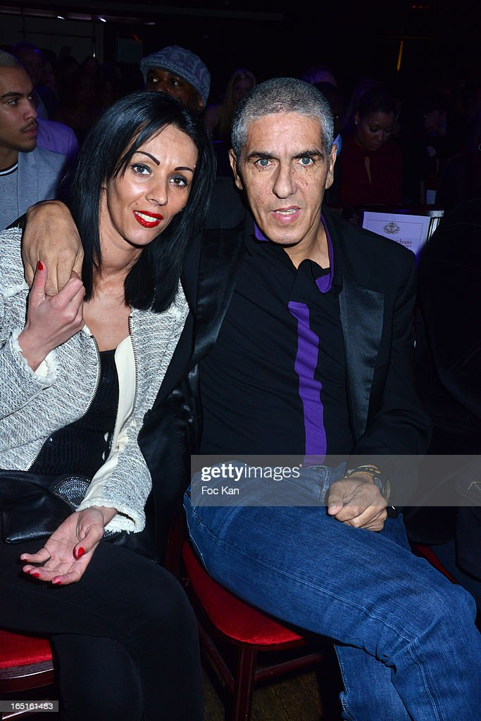 Audrey Naceri and Samy Naceri attend the 'OmarJeans' Launch Party At The Pavillon Champs Elysees on March 31, 2013 in Paris, France.
