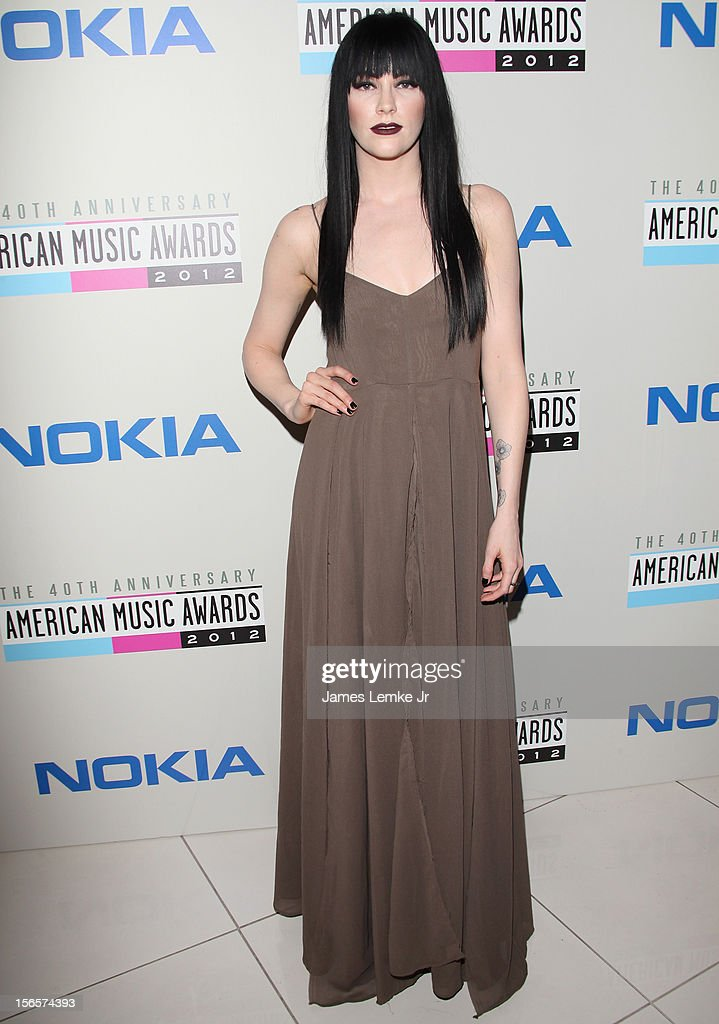 Audrey Napoleon attends the 40th Anniversary American Music Awards Electronic Dance Music Celebration held at the Club Nokia on November 16, 2012 in Los Angeles, California.