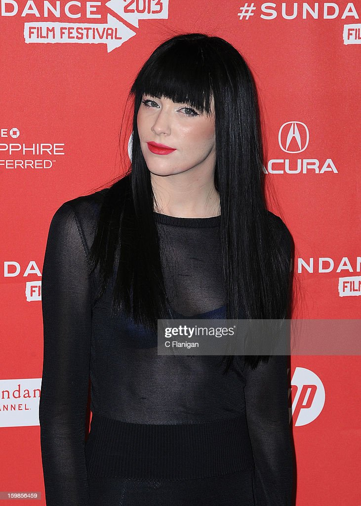 Audrey Napoleon attends 'The Necessary Death Of Charlie Countryman' premiere at Eccles Center Theatre during the 2013 Sundance Film Festival on January 21, 2013 in Park City, Utah.