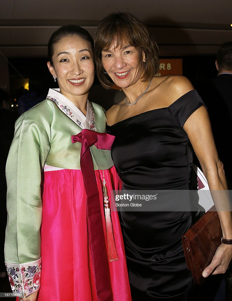 Audrey Paek, of Boston, Chairman of the Board, left, and Laura Sen, CEO of B.J. Corp., were among the 500 guests who attended the 2012 Silk Road Gala at the State Room, the 19th Annual benefit for the Asian Task Force Against Domestic Violence.