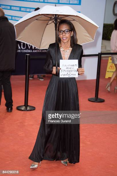 Audrey Pulvar arrives at the screening for 'mother' during the 43rd Deauville American Film Festival on September 8 2017 in Deauville France