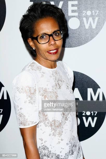 Audrey Pulvar attends the Etam show as part of the Paris Fashion Week Womenswear Spring/Summer 2018 on September 26 2017 in Paris France