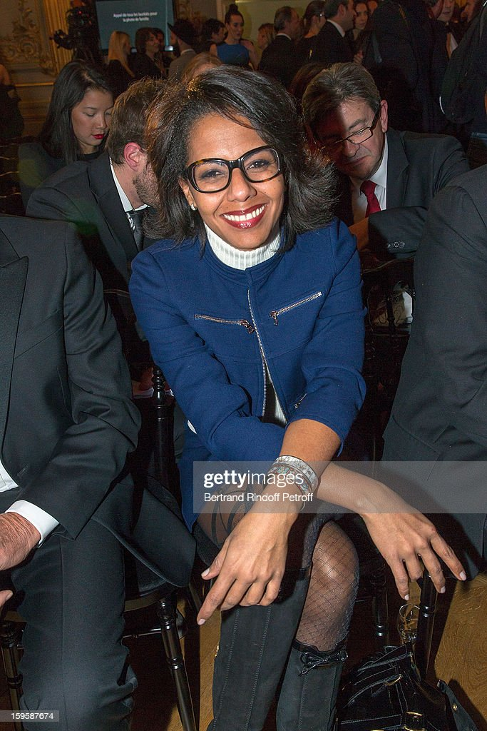 Audrey Pulvar attends the GQ Men of the year awards 2012 at Musee d'Orsay on January 16, 2013 in Paris, France.