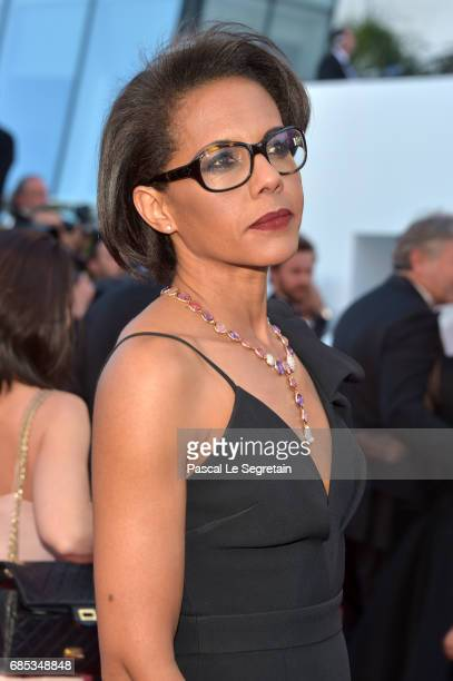Audrey Pulvar attends the 'Okja' screening during the 70th annual Cannes Film Festival at Palais des Festivals on May 19 2017 in Cannes France