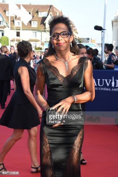 Audrey Pulvar attends the screening of 'Good Time' Premiere during the 43rd Deauville American Film Festival on September 2 2017 in Deauville France