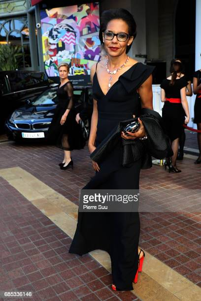Audrey Pulvar is spotted at the 4majestic Hotel'during the 70th annual Cannes Film Festival at on May 19 2017 in Cannes France