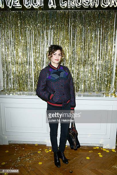Audrey Tautou attends at Hotel Salomon de Rothschild on March 1 2016 in Paris France