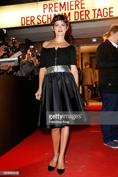 Audrey Tautou attends cinema premiere of 'Der Schaum der Tage' on Cinema Paris in Berlin on September 17 2013 in Berlin Germany