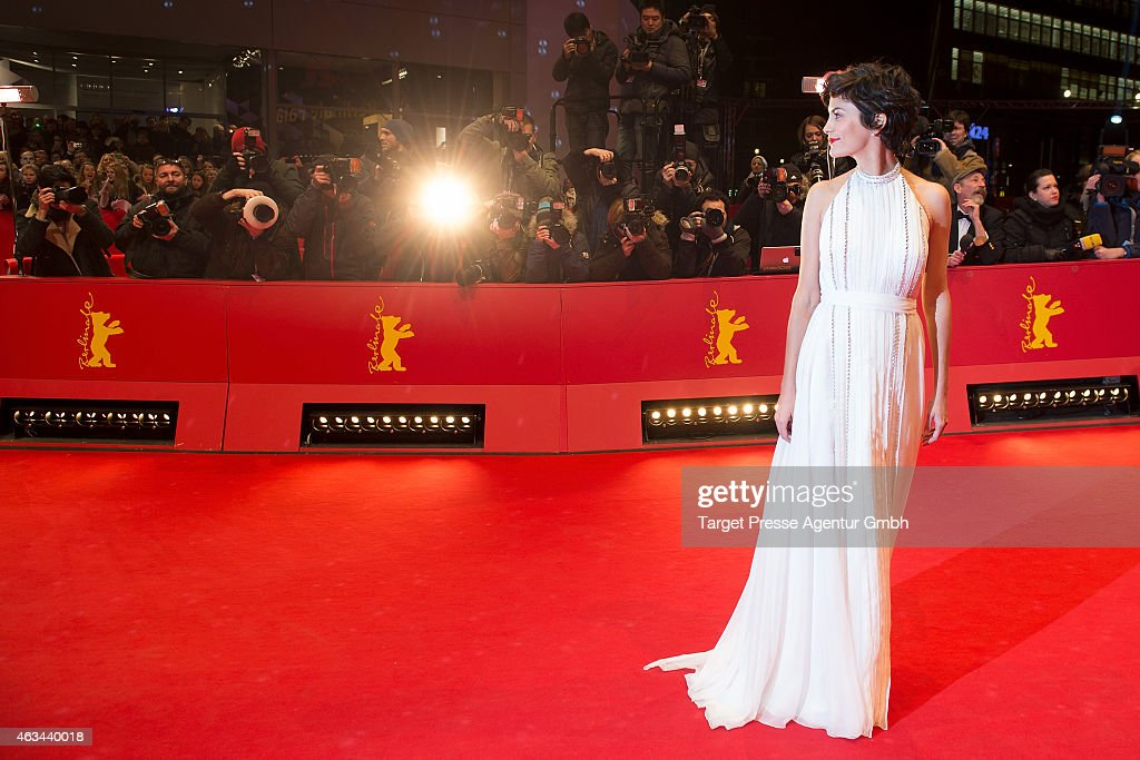 Audrey Tautou attends the Closing Ceremony of the 65th Berlinale International Film Festival at Berlinale Palace on February 14 2015 in Berlin Germany