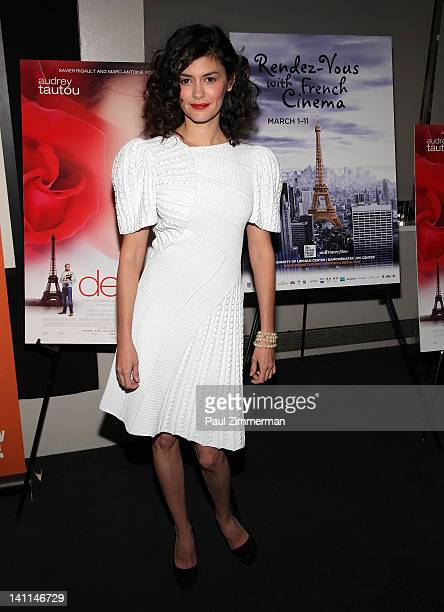 Audrey Tautou attends the 'Delicacy' screening during the closing night of the 17th annual RendezVous with French Cinema presented by the Film...