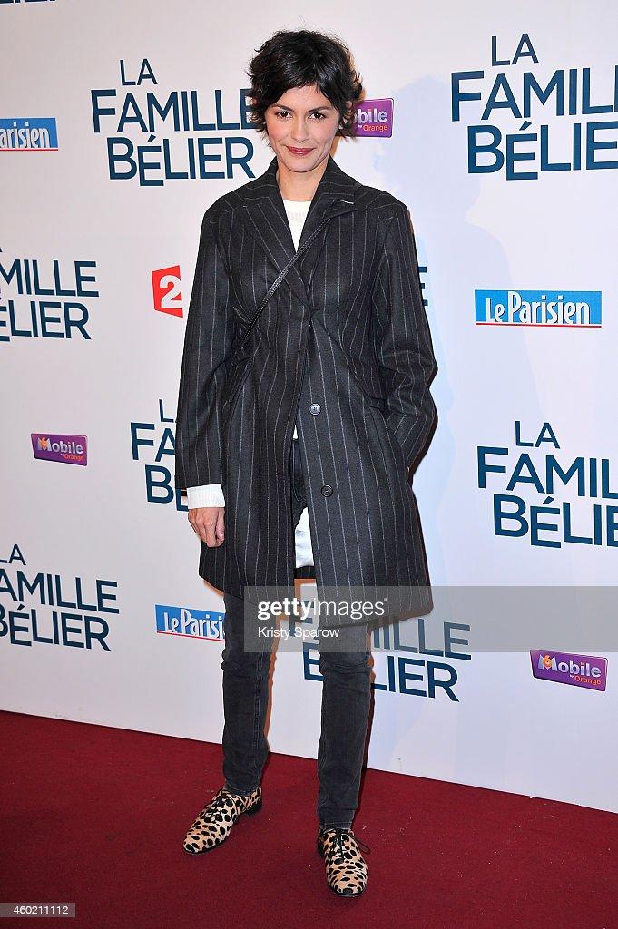 'La Famille Belier' : Paris Premiere At Le Grand Rex