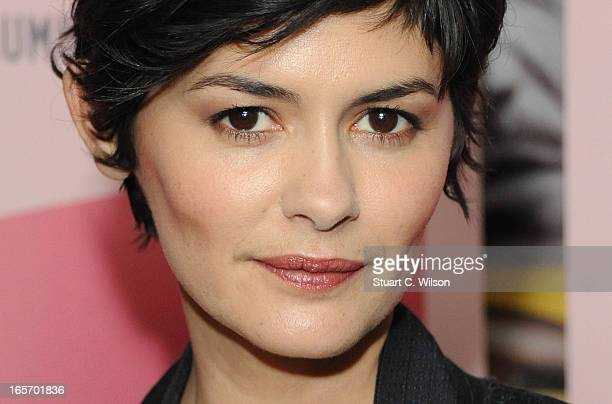 Audrey Tautou presents 'Therese Desqueyroux' as part of Rendezvous with French cinema at Curzon Soho on April 5 2013 in London England