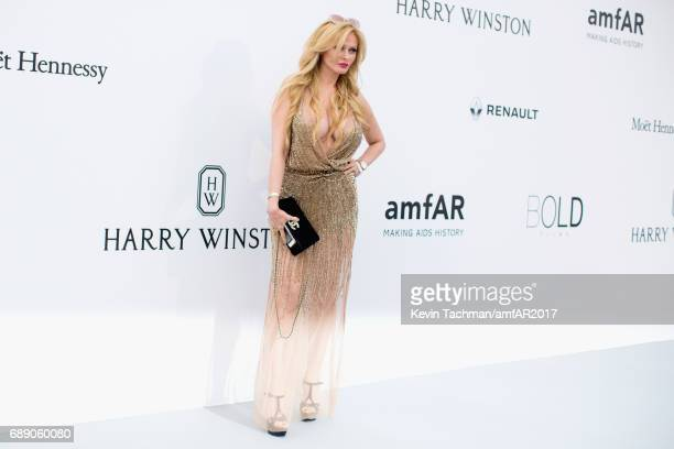 Audrey Tritto arrives at the amfAR Gala Cannes 2017 at Hotel du CapEdenRoc on May 25 2017 in Cap d'Antibes France