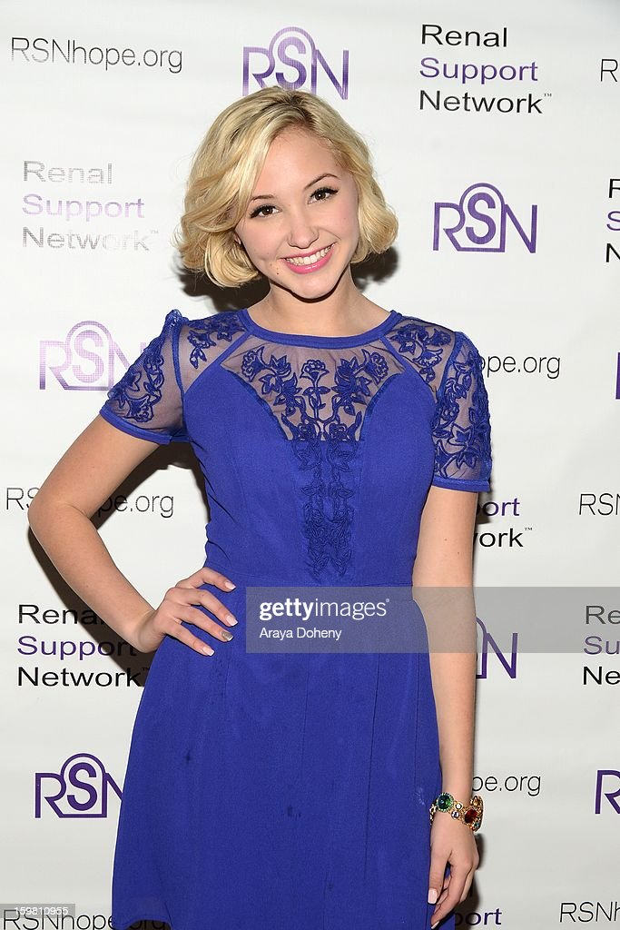 Audrey Whitby arrives at the Renal Support Network hosts 14TH Annual Renal Teen Prom featuring special guest star, Jack ?Black event at Notre Dame High School on January 20, 2013 in Sherman Oaks, California.