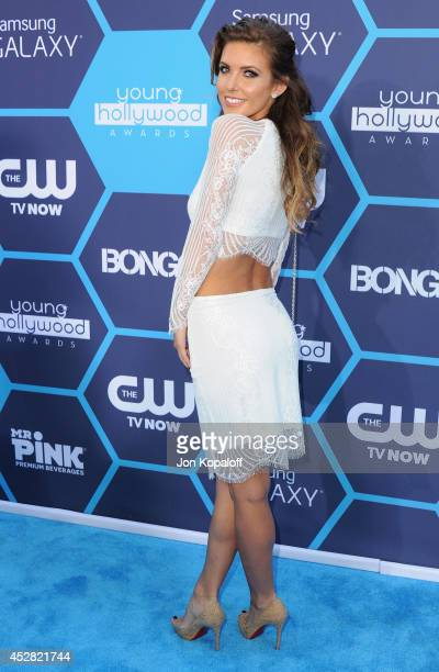 Audrina Patridge arrives at the 16th Annual Young Hollywood Awards at The Wiltern on July 27 2014 in Los Angeles California