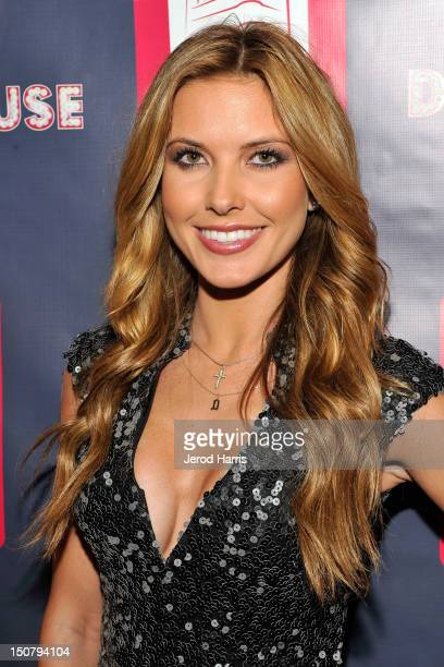 Audrina Patridge arrives at the Grand Opening of Pussycat Dolls Dollhouse in San Diego at the Keating Hotel on August 25 2012 in San Diego California