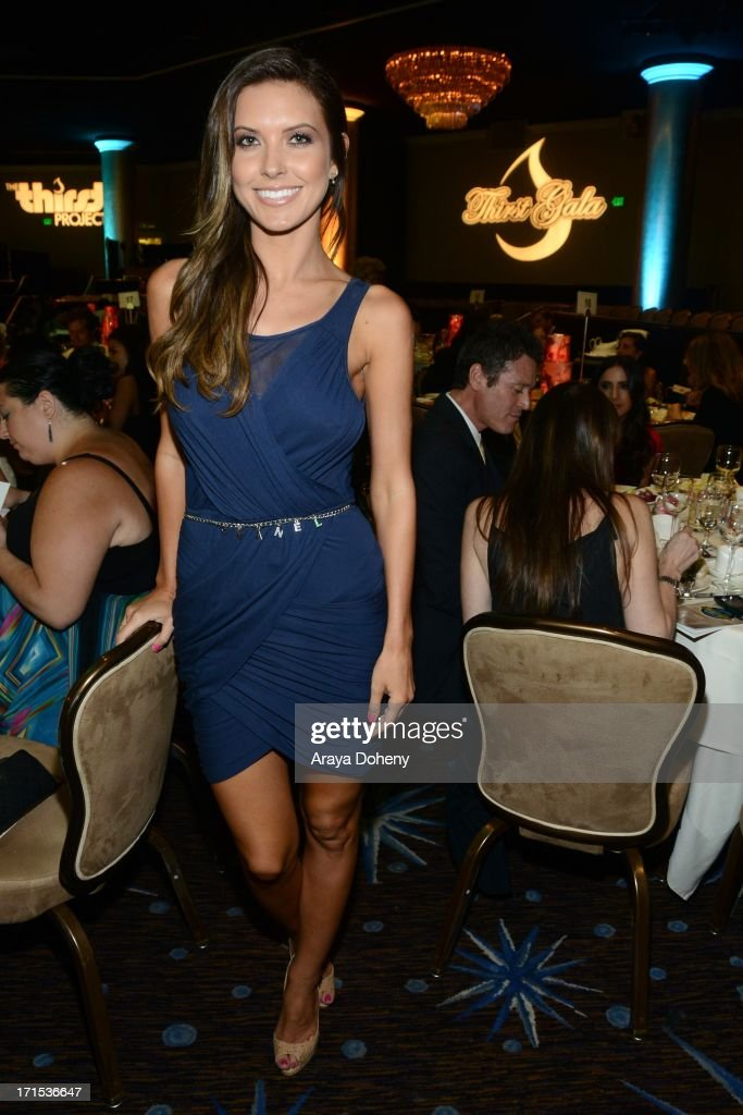 Audrina Patridge at The Thirst Project 4th annual gala and performance at The Beverly Hilton Hotel on June 25, 2013 in Beverly Hills, California.