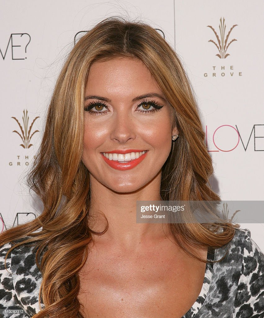 Audrina Patridge attends Extra's special pre-release party for Jennifer lopez's new album 'Love?.' held at The Grove on April 29, 2011 in Los Angeles, California.