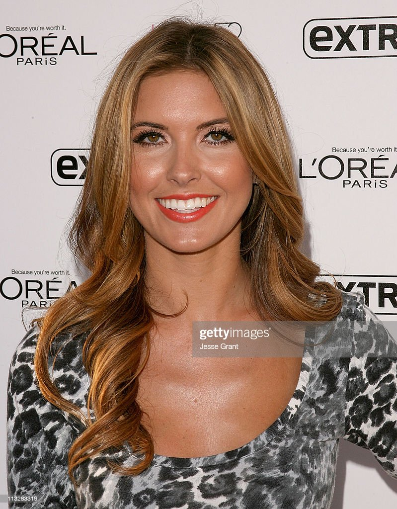 <a gi-track='captionPersonalityLinkClicked' href=/galleries/search?phrase=Audrina+Patridge&family=editorial&specificpeople=2584350 ng-click='$event.stopPropagation()'>Audrina Patridge</a> attends Extra's special pre-release party for Jennifer lopez's new album 'Love?.' held at The Grove on April 29, 2011 in Los Angeles, California.