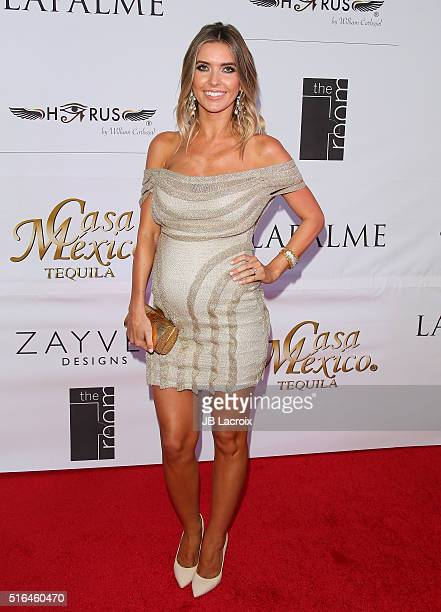 Audrina Patridge attends LaPalme Magazine's Spring Affair launch party at the Room on March 18 2016 in Los Angeles California