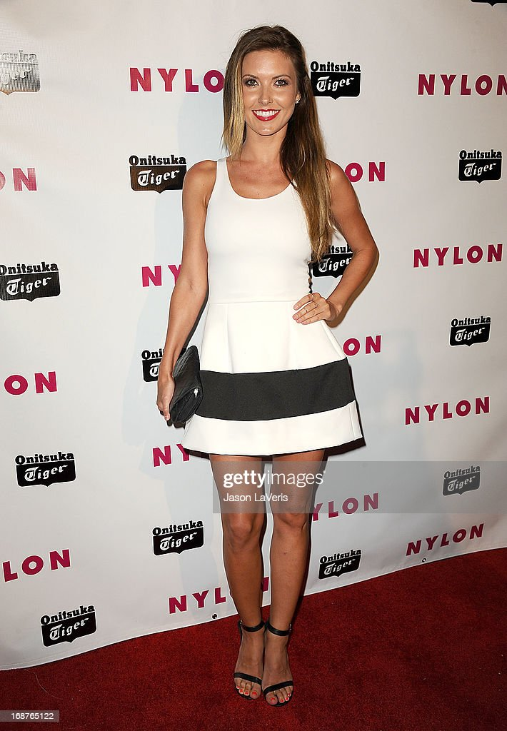 Audrina Patridge attends Nylon Magazine's Young Hollywood issue event at The Roosevelt Hotel on May 14, 2013 in Hollywood, California.