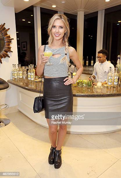 Audrina Patridge attends Snoop Dogg and Cuca Fresca Cachaca's first national campaign launch announcing it is ÒTime To Drink DifferentÓ on January 26...