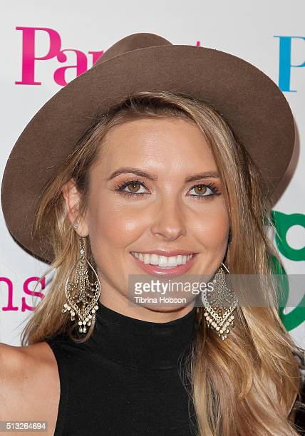 Audrina Patridge attends the Big City Moms Host 'The Biggest Baby Shower Ever' at Skirball Cultural Center on March 1 2016 in Los Angeles California