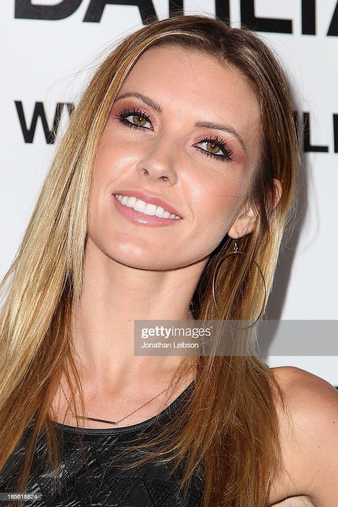 Audrina Patridge attends the Dahlia Wolf Launch Party at Graffiti Cafe on October 22 2013 in Los Angeles California