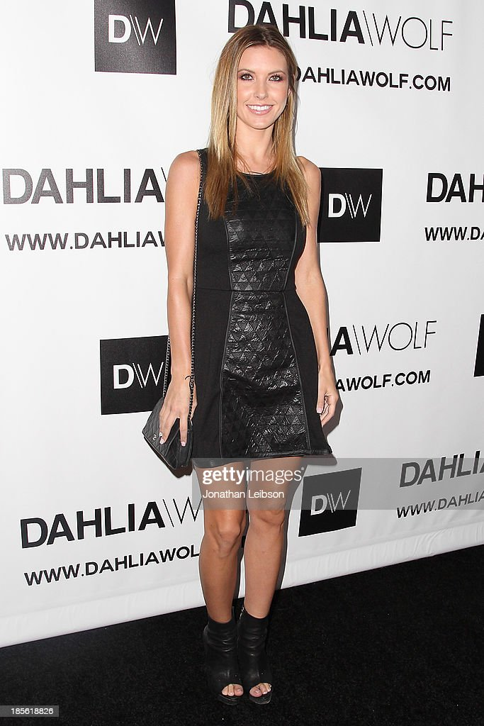 <a gi-track='captionPersonalityLinkClicked' href=/galleries/search?phrase=Audrina+Patridge&family=editorial&specificpeople=2584350 ng-click='$event.stopPropagation()'>Audrina Patridge</a> attends the Dahlia Wolf Launch Party at Graffiti Cafe on October 22, 2013 in Los Angeles, California.