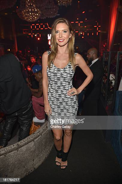 Audrina Patridge attends the NBA 2K14 premiere party at Greystone Manor on September 24 2013 in West Hollywood California