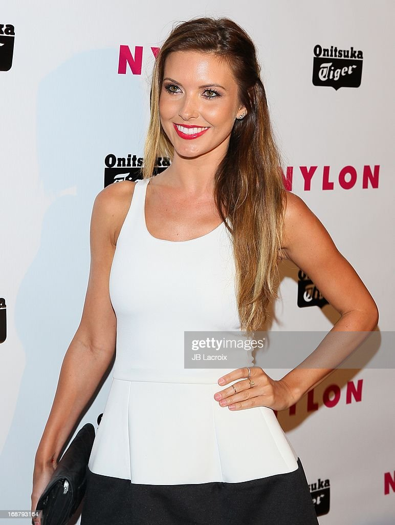 Audrina Patridge attends the NYLON Magazine Annual May Young Hollywood Issue Party at The Roosevelt Hotel on May 14, 2013 in Hollywood, California.