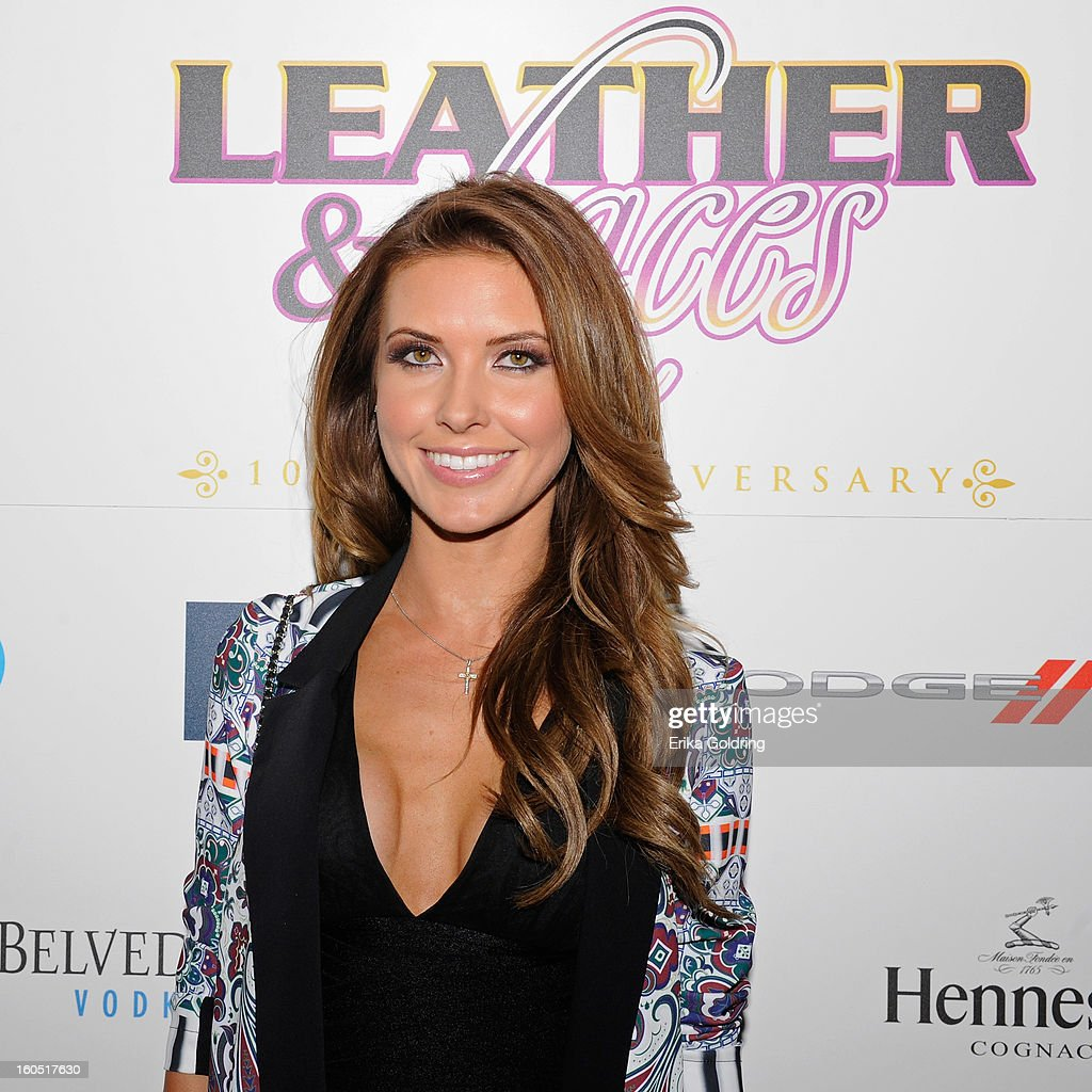 Audrina Patridge attends the Tenth Annual Leather & Laces Super Bowl Party on February 1, 2013 in New Orleans, Louisiana.