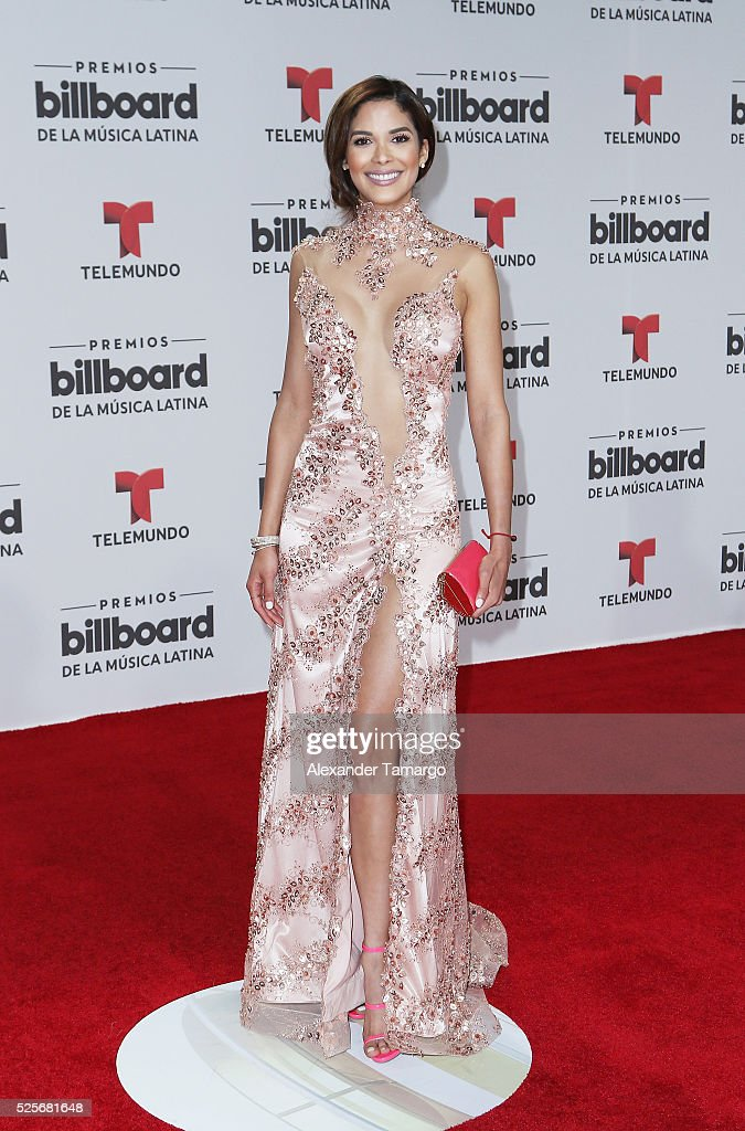 Audris Rijo attends the Billboard Latin Music Awards at Bank United Center on April 28, 2016 in Miami, Florida.