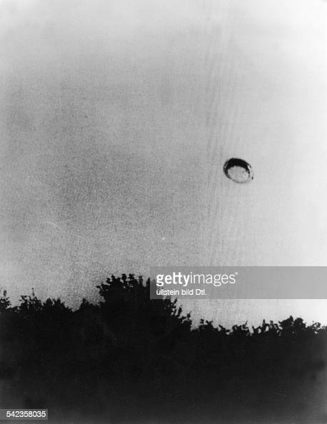 Aufnahme eines Ufos das angeblich über Clug in Rumänien gesichtet wurde veröff 1974