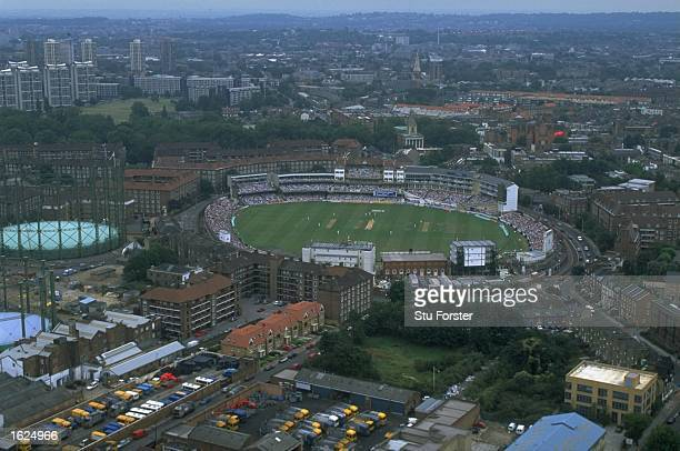 A general view of The Oval Cricket Ground during the Sixth Test Match between England and Austrlia in London England Mandatory Credit Stu Forster...