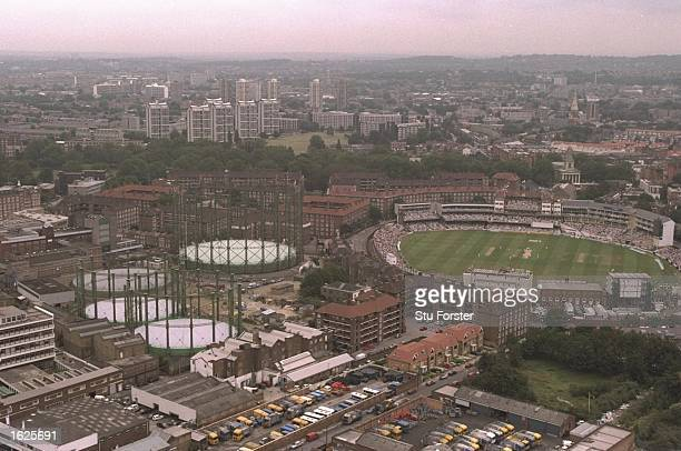 A general view of The Oval during the Sixth Ashes Test Match between England and Australia at The Oval in London England England won the match by 19...