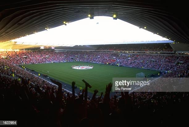 A general view of the Stadium of Light the new stadium of Sunderland Football Club in Sunderland England Mandatory Credit Stu Forster /Allsport