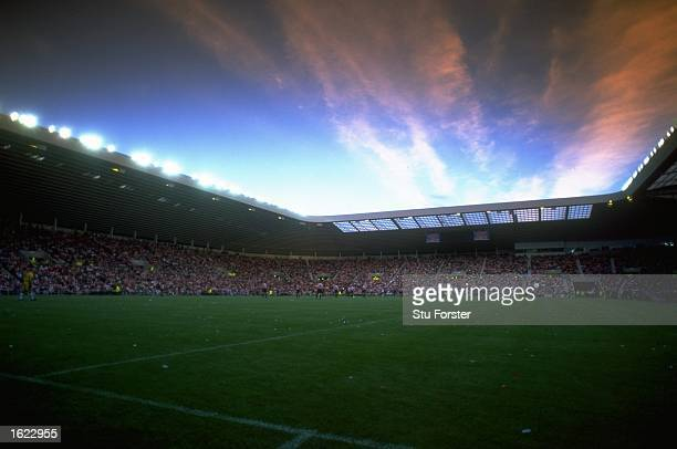 A general view of the Stadium of Light the new stadium of Sunderland Football Club in Sunderland England Mandatory Credit Stu Forster /Allsport
