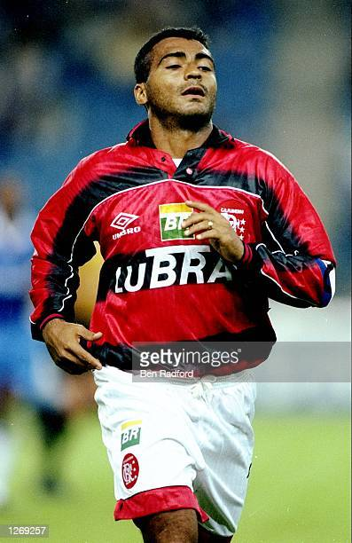 Romario of Flamengo in action during the preseason Gelderland Tournament game against Chelsea in Arnhem Holland Flamengo lost 50 Mandatory Credit Ben...