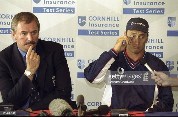 David Graveney and Nasser Hussain face a hostile press after England crashed to a home series defeat against New Zealand England lost the fourth Test...