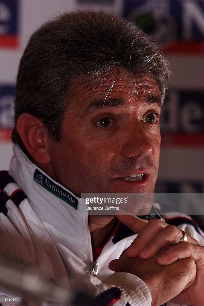 Kevin Keegan announces his squad for the forthcoming game EURO 2000 qualifying games against Luxembourg and Poland at the Park Court Hotel, London. Mandatory Credit: Laurence Griffiths/ALLSPORT