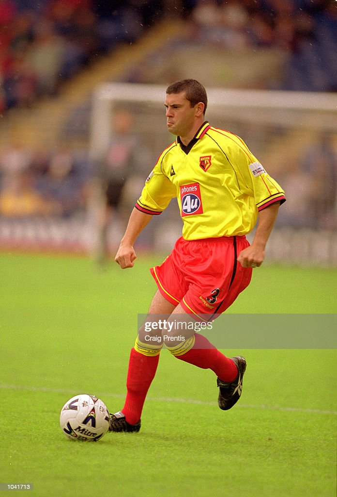 Paul Robinson of Watford in action during the Nationwide League Division One match against Wimbledon at Selhurst Park, in London. The match ended in a 0-0 draw. \ Mandatory Credit: Craig Prentis /Allsport
