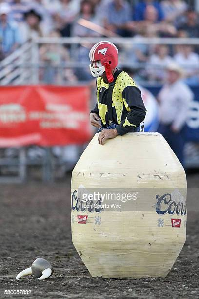 Rodeo Clown Stock Photos And Pictures Getty Images