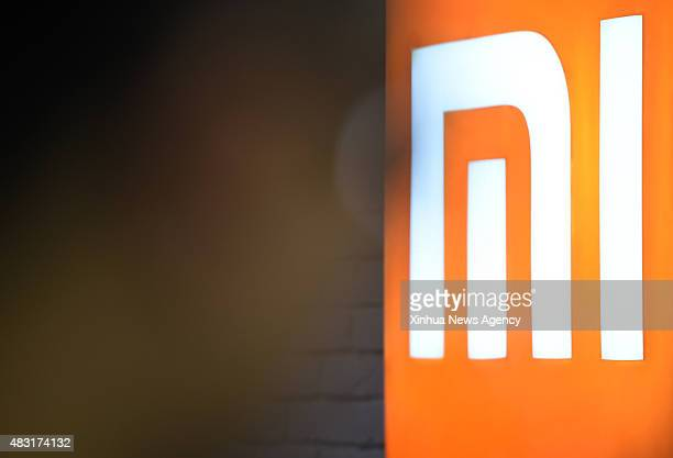 TAIPEI Aug 6 2015 Reporters visit the first Xiaomi store opened in Taipei southeast China's Taiwan Aug 6 2015 Sales experience and repair services...