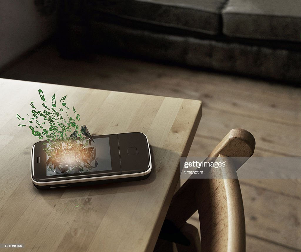 Augmented reality on a mobile phone